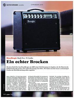 guitar Mesa Boogie Mark Five 35 Combo