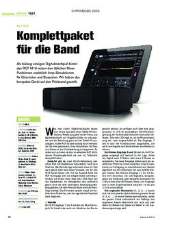 tastenwelt RCF M18