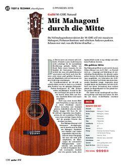 guitar Guild M-120E Natural