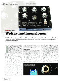 guitar Gurus Echosex 2