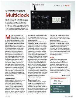 KEYS E-RM Multiclock
