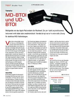 KEYS Yamaha MD-BTOI und UD-BTOI