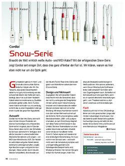 KEYS Cordial Snow Serie