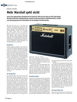 Guitar gear Amp - Marshall JVM 205C