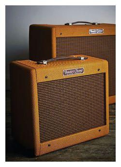 Guitarist Fender 57 Custom Champ und Custom Deluxe