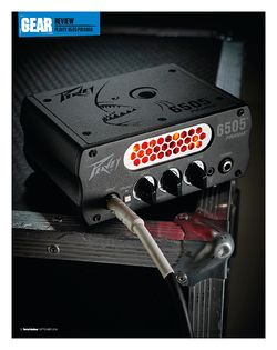 Total Guitar Peavey 6505 Piranha Micro Head