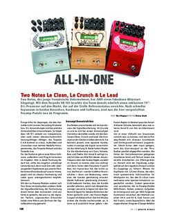 Gitarre & Bass Two Notes Le-Preamp-Serie, Preamp-Pedale
