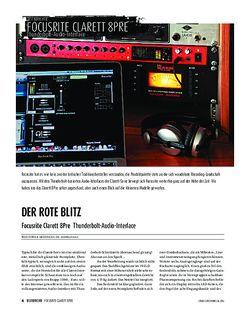 Sound & Recording Focusrite Clarett 8Pre - Thunderbolt-Audio-Interface