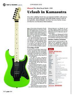 guitar Charvel Pro Mod Socal Style 1 HH