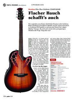 guitar Ovation Elite Plus Celebrity CE48P-KOAB