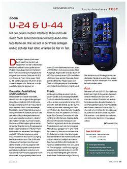 KEYS Zoom U-24 & U-44