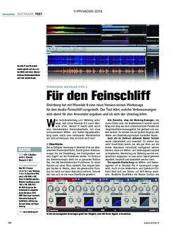 tastenwelt Steinberg Wavelab Pro 9