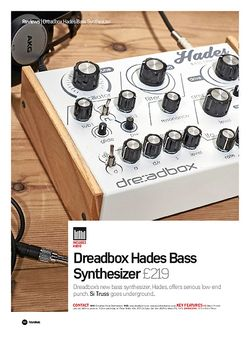 Future Music Dreadbox Hades Bass Synthesizer