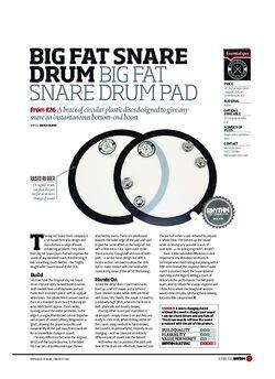 Rhythm Big Fat Snare Drum Big Fat Snare Drum Pad