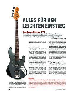 Gitarre & Bass Sandberg Electra TT4, E-Bass