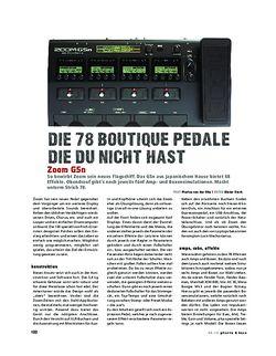 Gitarre & Bass Zoom G5n, Multi-FX