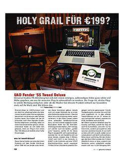 Gitarre & Bass UAD Fender '55 Tweed Deluxe, Modeling-Software