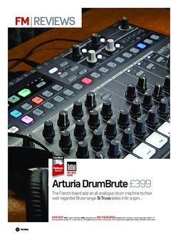 Future Music Arturia DrumBrute