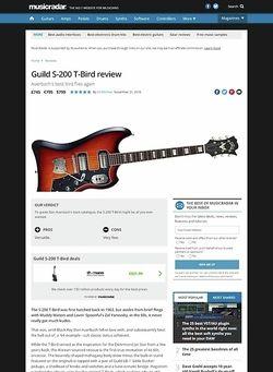 MusicRadar.com Guild S-200 T-Bird