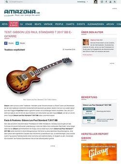 Amazona.de Gibson Les Paul Standard T 2017 BB