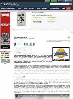 Audiofanzine.com Fulltone OCD V1.7