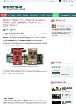Amazona.de TC Electronic Echobrain Analog Delay und Blood Moon Phaser