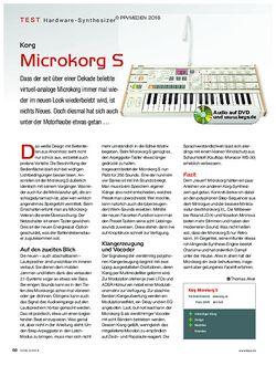 KEYS Korg Microkorg