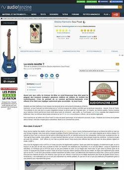 Audiofanzine.com Electro-Harmonix Soul Food