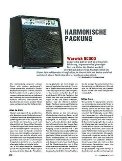 Gitarre & Bass Warwick BC300