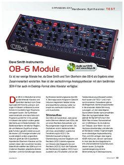 KEYS DSI OB-6 Module
