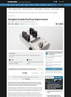 MusicRadar.com Darkglass Duality Dual Fuzz Engine