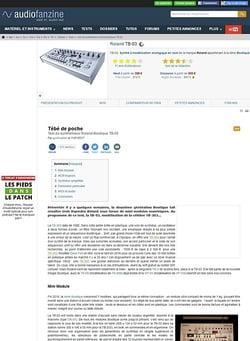 Audiofanzine.com Roland TB-03