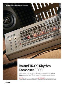 Future Music Roland TR-09 Rhythm Composer
