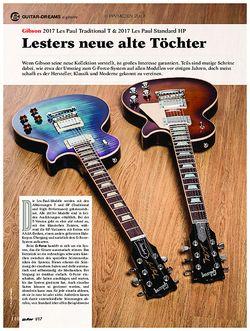 guitar Gibson 2017 Les Paul Traditional T & 2017 Les Paul Standard HP