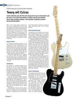 Guitar gear E-Gitarre - Fender Classic Baja & Deluxe Blackout Telecaster