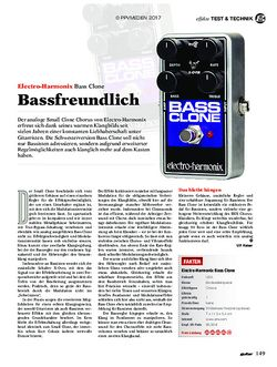 guitar Electro-Harmonix Bass Clone