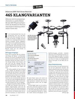 DrumHeads Millenium MPS-750 E-Drum Mesh Set