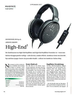 Recording Magazin SENNHEISER HD 650 & APOGEE GROOVE