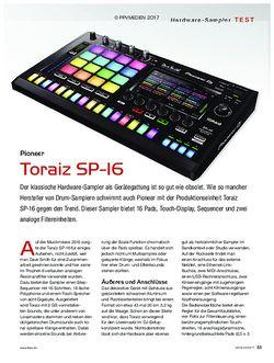 KEYS Pioneer Toraiz SP-16