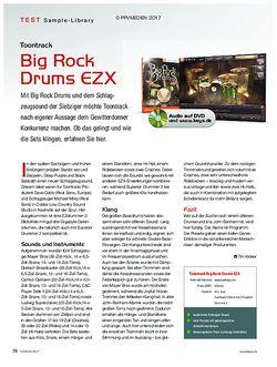 KEYS Toontrack Big Rock Drums