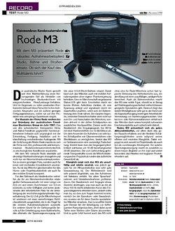 KEYS Test: Rode M3