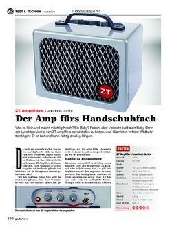 guitar ZT Amplifiers Lunchbox Junior