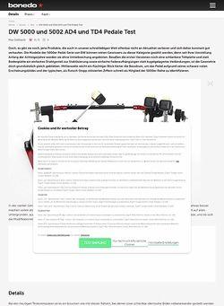 Bonedo.de DW 5000 und 5002 Accelerator und Turbo Pedale 2017