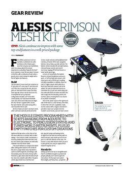 Rhythm Alesis Crimson Mesh Kit