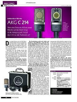 KEYS Test: AKG C214