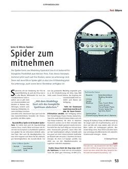 Soundcheck Test: Line 6 Micro Spider