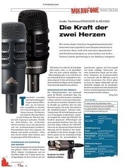 DrumHeads Instrumente & Technik: Audio-Technica ATM250DE & AE2500