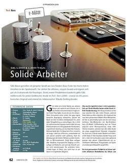 Soundcheck Test: G&L L-2000 & L-2000 Tribute – Solide Arbeiter