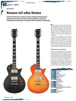 Guitar gear E-Gitarre - ESP LTD EC-256