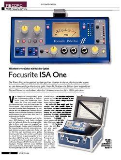 KEYS Focusrite ISA One